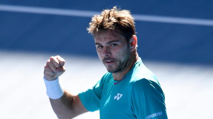 Australian Open: Wawrinka po raz trzeci w półfinale w Melbourne