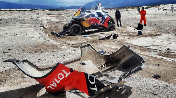 Rajd Dakar: Loeb ósmy z dużą stratą, Przygoński 15. po ósmym etapie