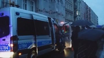 """04-10-2016 15:04 Poznań: zarzuty dla zatrzymanych po """"czarnym marszu"""""""