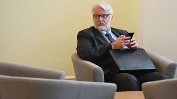 11-10-2016 21:35 Waszczykowski rozmawiał z szefem francuskiego MSZ m.in. o sprawie śmigłowców