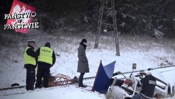 """19-03-2017 17:07 Śmierć na torach. """"Na jezdni był goły lód"""". """"Państwo w Państwie"""" o 19:30"""