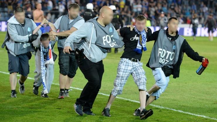 Sześciu zatrzymanych po zamieszkach na stadionie Ruchu