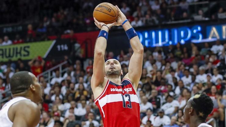 NBA: Porażka Wizards po dogrywce, podwójna zdobycz Gortata