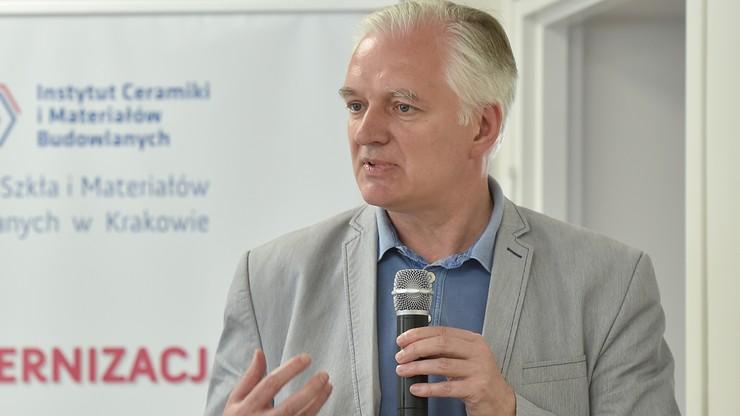 """""""To dzwonek alarmowy, że spory polityczne w Polsce zaszły za daleko"""". Gowin o zajściu w Radomiu"""