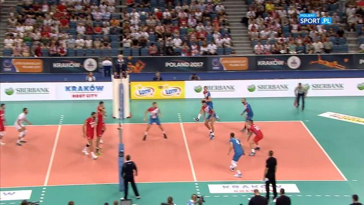 Serbia - Bułgaria 3:0. Skrót meczu
