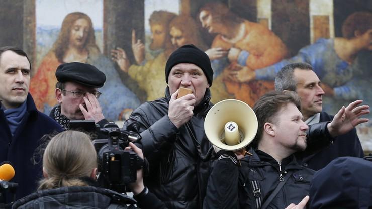 Areszt dla białoruskich opozycjonistów za akcję 1 maja. Jeden zapowiedział głodówkę
