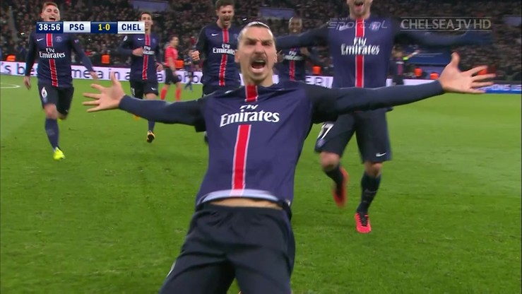 Ibrahimović miał masę szczęścia! Courtois pokonany