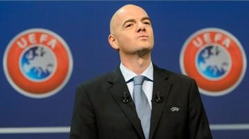 2015-10-26 Infantino kandydatem UEFA na prezydenta FIFA