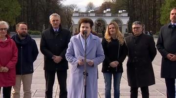 Gronkiewicz-Waltz: nie oddamy tak łatwo placu Piłsudskiego - placu symbolu