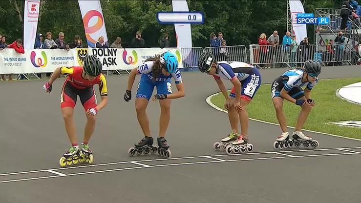 TWG: Finał na 500m kobiet jazda szybka na rolkach