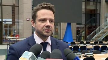 14-03-2016 12:56 Trzaskowski: większość grup w PE chce rezolucji ws. Polski