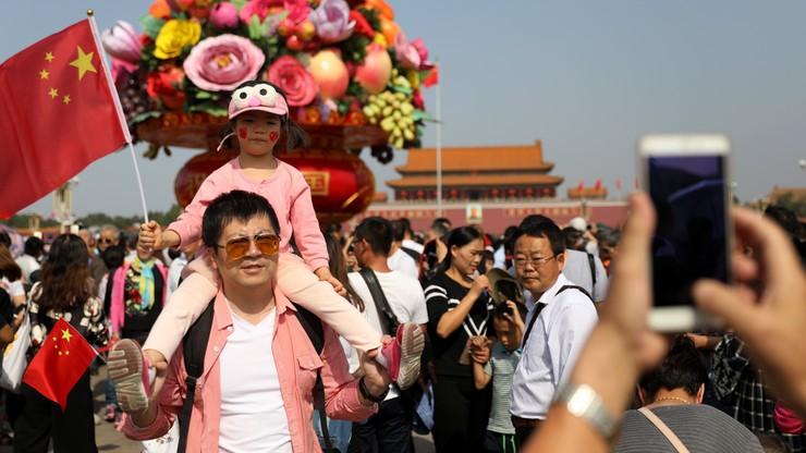 Komunistyczne Chiny świętują 68. rocznicę powstania