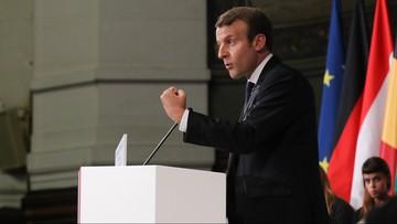 27-09-2017 13:04 Macron mocno o polskim rządzie: jeżeli wprowadzi swój program, musi zaproponować opuszczenie Europy