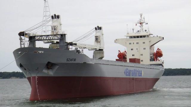 Porwanie polskich marynarzy. Statek wraca do portu