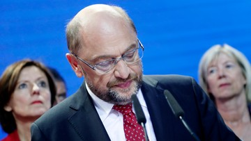 24-09-2017 19:33 Martin Schulz: nie cieszymy się z uzyskanego wyniku