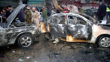 07-01-2017 12:54 19 osób zginęło w wybuchu samochodu pułapki w Syrii