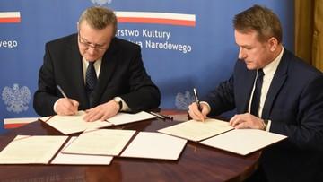 """27-12-2016 17:47 """"Upamiętnienie rotmistrza Pileckiego"""". Minister kultury podpisał umowę o prowadzeniu Muzeum Dom Pileckich"""