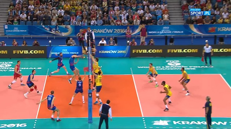 Serbia - Brazylia 3:0. Skrót meczu