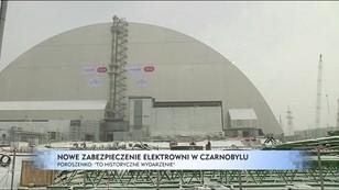 Nowe zabezpieczenie elektrowni w Czarnobylu - Poroszenko: To historyczne wydarzenie