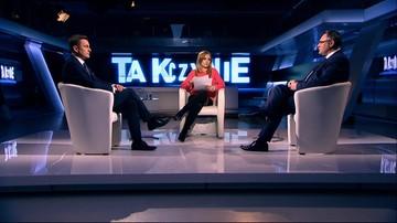 """2017-01-09 """"Nie zamierzamy rezygnować z protestu"""" - poseł PO Arkadiusz Myrcha w programie """"Tak czy Nie"""""""