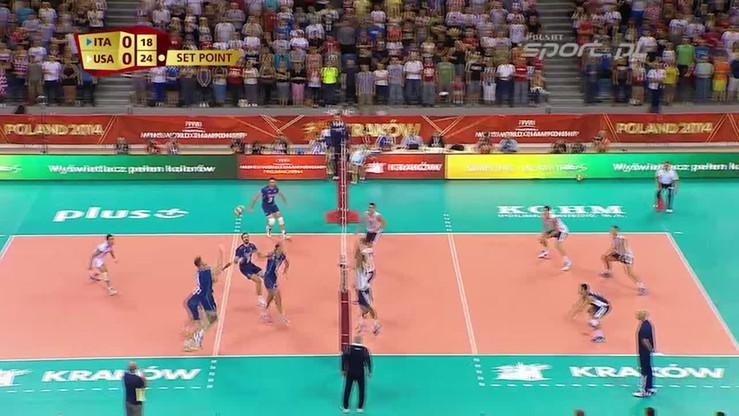 Włochy - USA 1:3. Skrót meczu