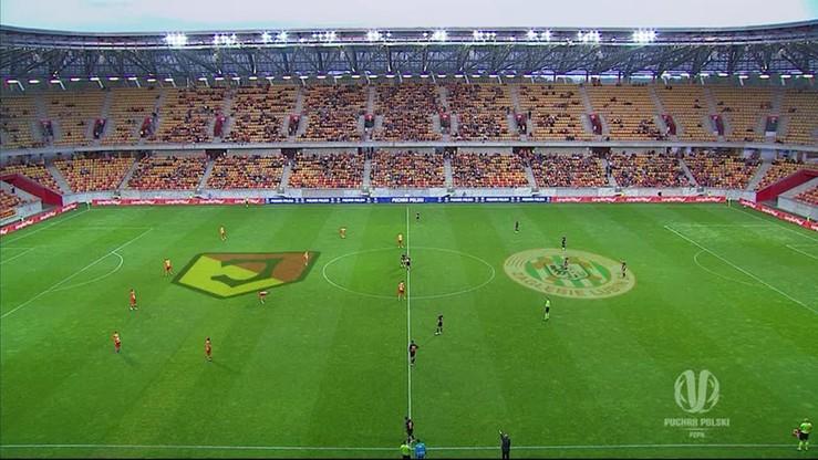 Jagiellonia Białystok - Zagłębie Lubin 0:2. Skrót meczu