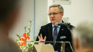 """21-11-2016 16:05 """"Polska chce być mostem między UE i NATO"""" – Szczerski w Brukseli"""