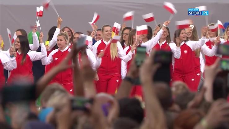 2017-07-20 The World Games: Reprezentanci Polski na ceremonii otwarcia
