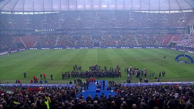 2015-05-02 Dekoracja medalistów Pucharu Polski