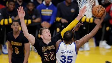 2016-11-26 NBA: Porażka Clippers, Warriors najlepsi na zachodzie