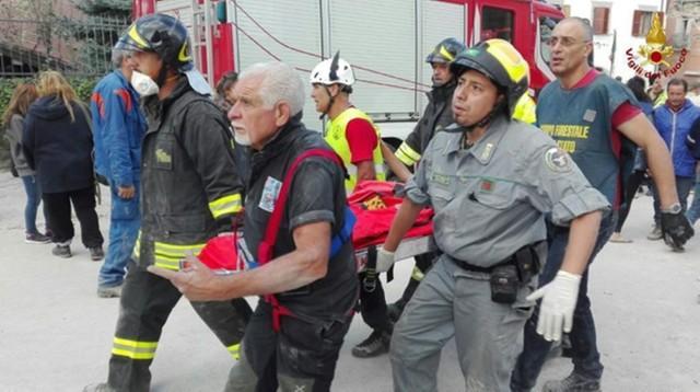 Komisja Europejska deklaruje, że pomoże Włochom po trzęsieniu ziemi