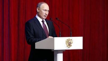 23-02-2017 22:23 Putin: Rosja będzie nadal wzmacniać swoje siły zbrojne