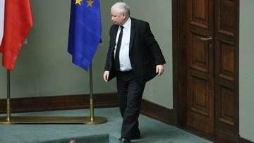 """""""Nie jest w interesie Polski"""". Kaczyński o reelekcji Tuska na stanowisko szefa Rady Europejskiej"""