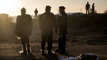27-10-2016 14:01 Zbiorowy gwałt na Etiopce podczas ewakuacji obozu dla uchodźców w Calais