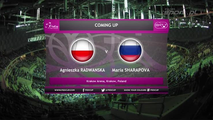 Agnieszka Radwańska - Maria Szarapowa 0:2. Skrót meczu