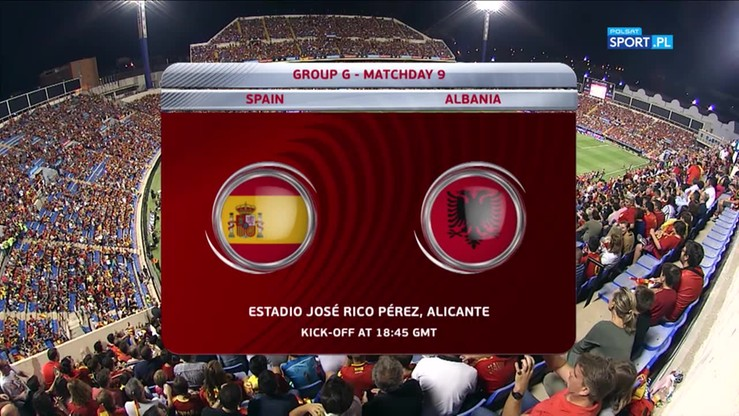 El. MŚ 2018: Hiszpania - Albania 3:0. Skrót meczu