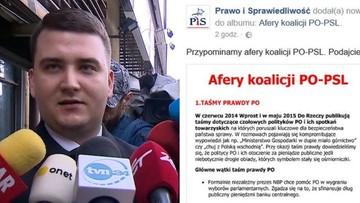 """14-04-2017 17:28 Opozycja wytyka sprawę Misiewicza, PiS publikuje """"afery koalicji PO-PSL"""""""