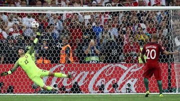 2016-07-01 Polska - Portugalia: Rzuty karne