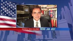 Mariusz Max Kolonko - podróż wiceprezydenta USA po Europie Wschodniej