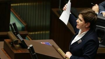 Premier: zajęliśmy się sprawami zwykłych Polaków