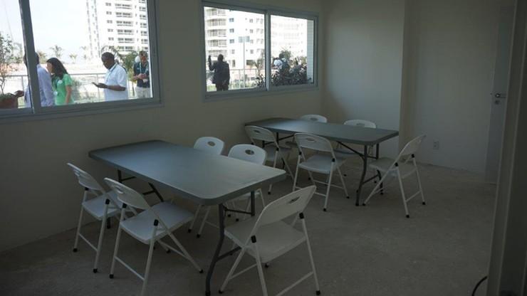 Mieszkania w wiosce olimpijskiej w Rio