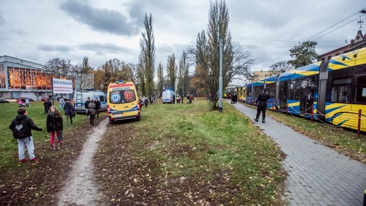 Toruń: kilkanaście osób rannych po zderzeniu trzech tramwajów