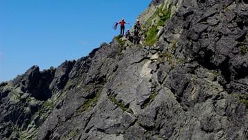 08-08-2016 21:59 Wypadek w Tatrach. Turysta zginął na Orlej Perci