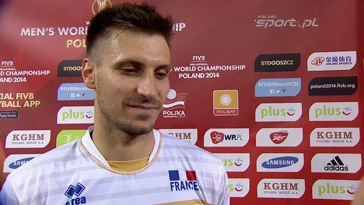 Rouzier: Z Australią zagraliśmy źle. Musimy zapomnieć o tym meczu