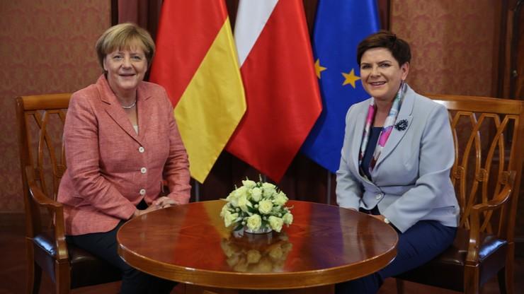 Rozpoczęła się wizyta kanclerz Niemiec w Polsce
