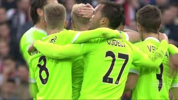 2015-11-08 Hit Eredivisie na remis. Milik asystuje przy kuriozalnym golu (WIDEO)
