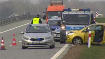 Wypadek pod Łodzią. Dwie ofiary śmiertelne