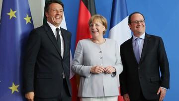 """27-06-2016 19:06 """"Żadnych rozmów z Wielką Brytanią bez art. 50"""". Narada w Berlinie po Brexicie"""