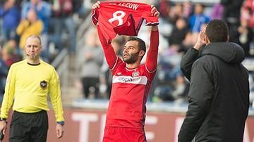 2017-10-16 Nikolić strzelił hat-tricka i zadedykował gola kontuzjowanemu koledze!