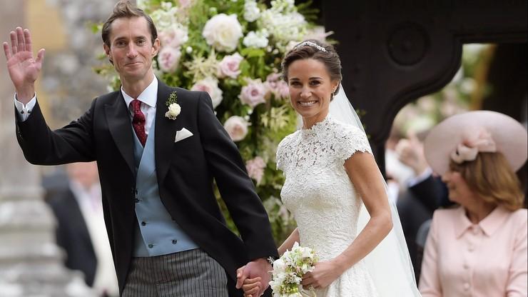 """""""Niemal Królewski ślub"""". Pippa Middleton Wyszła Za Mąż"""